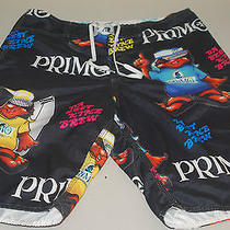 Mens Special Edition Billabong Primo Beer Chance Em Board Shorts 34 Photo