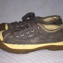 Mens Sz 10 Keen Ir1106 Canvas Brown Natural Cotton Loose Lined Washable Sneakers Photo