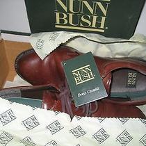 Mens Sz 11 M Brown Nunn Bush Campbell Oxford Dress Casual Shoes  Photo