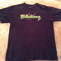 Mens Sz. Large Billabong Black Tee Astroid Game T-Shirt Photo