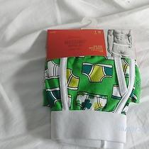 Mens Sz. Medium Mossimo Green Irish Low Rise Boxer Briefs New Photo
