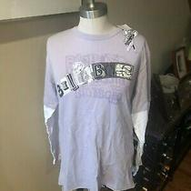 Mens Sz Small Long Sleeve T Shirt in Lilac W/ Billabong Graphic on Front. New Photo