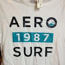 Mens T-Shirt L Aeropostale 1987 Surf Photo