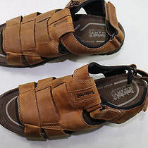 Mens Timberland Smart 12 M Brown Leather Sport Sandals Photo