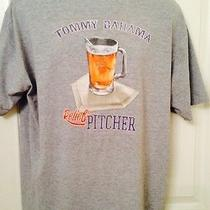 Mens Tommy Bahama Tee T Shirt Relax Beer Relief Pitcher Guys L Lrg Large Photo