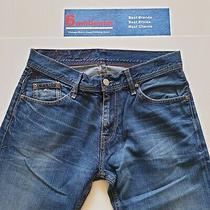 Mens Tommy Hilfiger Wilson Regular Jeans W32 L32 Blue Straight Fit Photo