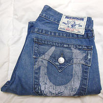 Mens True Religion 31 Section Boot Cut Seat 33  Photo