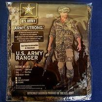 Mens  U.s. Uniform Army Ranger Deluxe Commando Superhero Fancy Dress Costume  Photo
