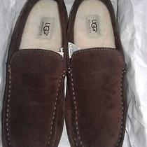 Mens Ugg Boots Australia Brown Sheepskin Loafers Slipper Driving Shoes Slip on 9 Photo