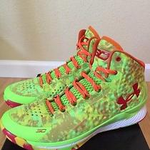 Mens Under Armour Curry One Sour Patch Candy Reign Sz 11.5 Photo