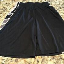 Mens Under Armour Light Weight Basketball Shorts Black Medium Photo