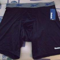 Mens Underwear Reebok Sport Microfiber Midway Style Boxer Brief (Large) Photo