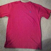 Mens v-Neck Hurley T-Shirt Medium Photo