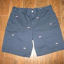 Mens Vineyard Vines Blue Whale Breaker Shorts Sz. 38 Photo