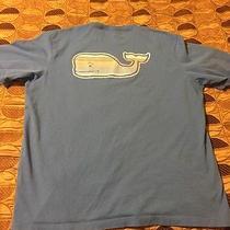 Mens Vineyard Vines 'Oceaneer Stripe' Graphic T-Shirt Short Sleeve Blue Xl New Photo