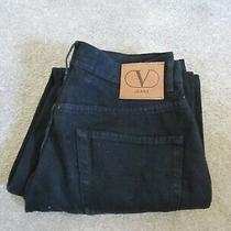 Mens Vintage Valentino Jeans  Size 33 Waist 30 Leg  Photo