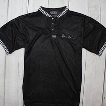 Mens Vintage Versace Jeans Couture Shirt Black Size Man L Photo