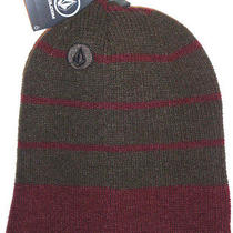 Mens Volcom Beanie Hat Cap One Size Photo