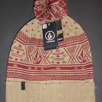 Mens Volcom Beanie Hat Cap One Size Photo