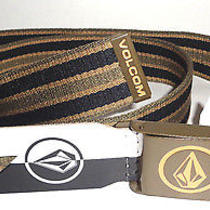 Mens Volcom Circle Web Adjustable Belt One Size Photo