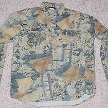 Mens Wfs Element Gear Camo Shirt River Ghost Size Xl Button Front Photo