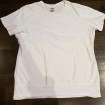 Mens White 5xl Tshirt  Spanx Panel to Hold Stomach in Slimming Belly Hb Cotton Photo