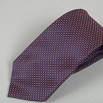 Mens Woven Handmade 100% Silk Necktie Burberrys of London Tie Modernist Pattern Photo