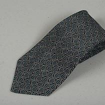 Mens Woven Handmade 100% Silk Necktie Fendi Tie Modernist Roma Rome Photo
