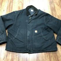Mens Xl - Carhartt J002 Duck Arctic Lined Coat Jacket Photo