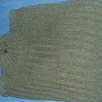 Mens Xl Express Sweater Brown 100% Cotton Photo