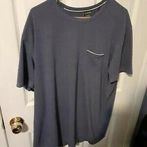 Mens Xl Lacoste Sleepwear Blue T-Shirt  Photo
