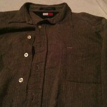 Mens Xl Tommy Hilfiger Casual Dress Shirt Nice With Pocket Extra Soft Nice Photo