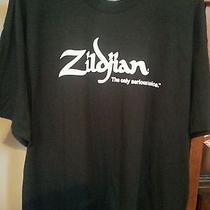 Mens Xl Zildijian T Shirt Taken Out of Bag to Display Drum T Shirt Xl Was New  Photo