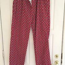 Mens Xtra Lg Vineyard Vines Pajama Pants - Red Flannel Cars With Christmas Tree Photo