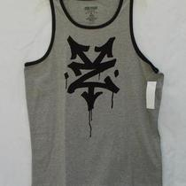 Mens Zoo York Lord Grill Sleeveless Tank Top Size Xl Heather Gray/black Nwt 30 Photo