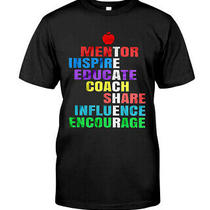 Mentor Inspire Educate Coach Share Influence Encourage T Shirt Photo