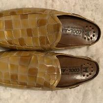 Mephisto Cool-Air Croc Print Patent Leather Mules Size Us 8 Photo