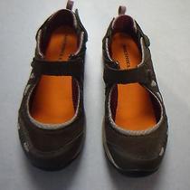 Merrell Boulder/blushing Maryjane Style Sports Shoe Sz 9mdisplay No Wear Photo