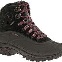 Merrell Hiking Snow Boots Icerig Clipshell Black/blushing Size 9 Photo