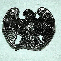 Metal Eagle Symbol Belt Buckle - Made by Avon - 2