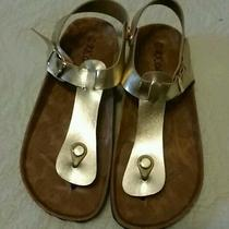 Metallic Gold Sandal  Photo