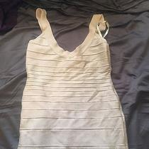 Metallic Herve Leger Dress Photo