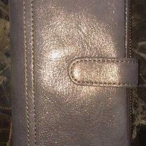 Metallic Leather Wallet Photo