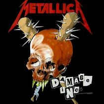 Metallica Cd Lgo Masters Damage Inc. Official Shirt Xxl 2x New Photo