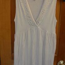 Metro 7 Sz M Blush v-Neck Embellished Knit Top Photo