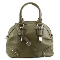 Mg Collection Camilla Satchel Women Green Satchel Photo