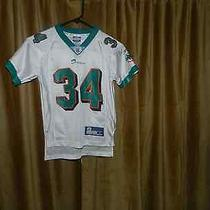 Miami Dolphins 34 R. Williams Authentic Reebok Nfl Football Jersey  Photo