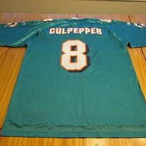 Miami Dolphins Culpepper Football Jersey Size Adult L Large Nwt New Photo