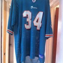 Miami Dolphins Jersey Adult Size Xl   34 Ricky Williams Nfl Football Reebok Nfl Photo