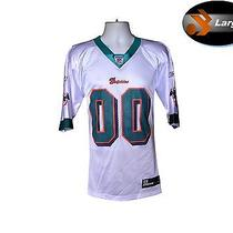 Miami Dolphins Mens Nfl Replica Team Jersey.....large.....licensed Reebok Gear Photo